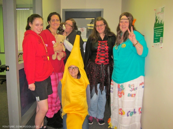 Halloween Day at Vancouver Career College in Abbotsford, BC - Ba