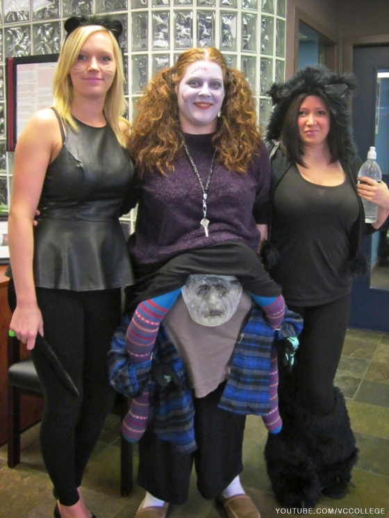 Halloween Day at Vancouver Career College in Abbotsford, BC - Ca