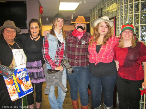 Halloween Day at Vancouver Career College in Abbotsford, BC - Gr