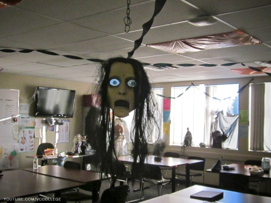 Halloween Day at Vancouver Career College in Abbotsford, BC - Ha
