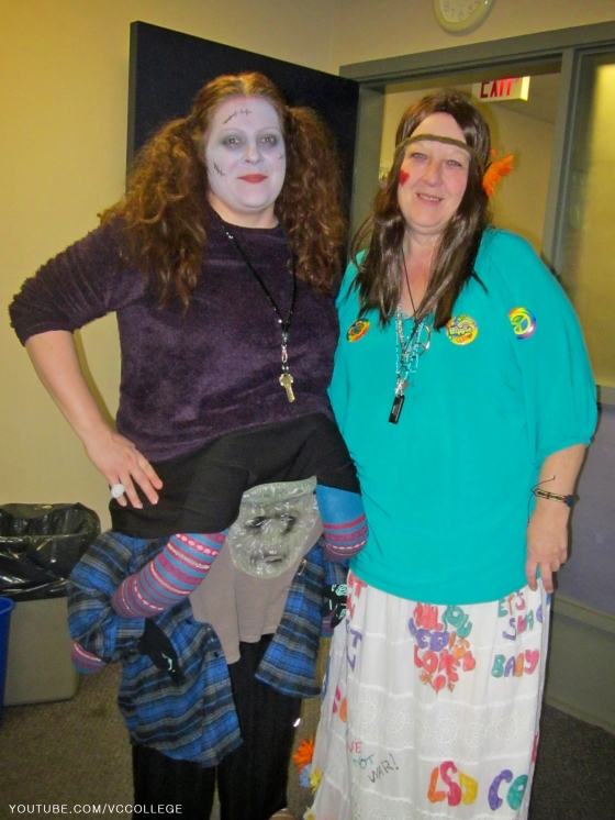 Halloween Day at Vancouver Career College in Abbotsford, BC - Hi