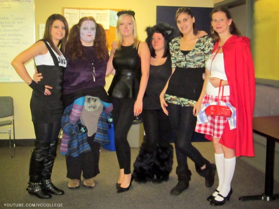 Halloween Day at Vancouver Career College in Abbotsford, BC - La