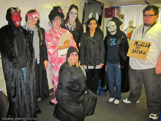 Halloween Day at Vancouver Career College in Abbotsford, BC - Wh